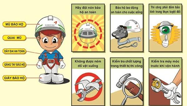 "Résultat de recherche d'images pour ""10 điều cần biết về an toàn, vệ sinh lao động"""