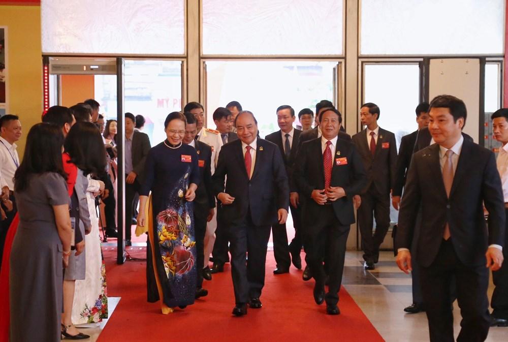Thủ tướng Chính phủ Nguyễn Xuân Phúc dự Đại hội