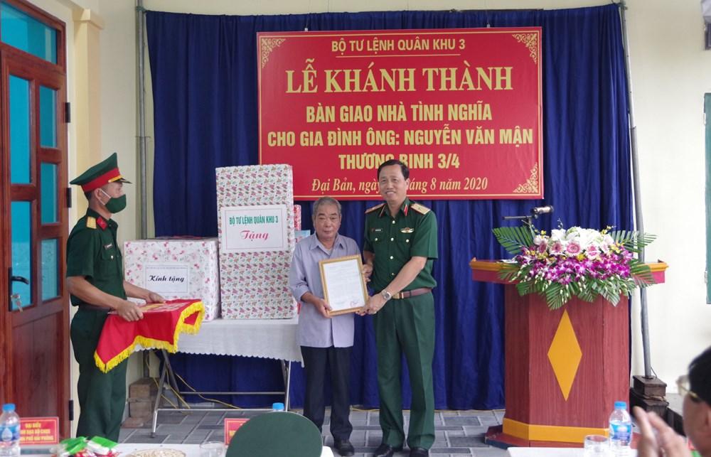 Bộ Tư Lệnh Quan Khu 3 Khanh Thanh Va Ban Giao Nha Tinh Nghĩa Tại Huyện An Dương